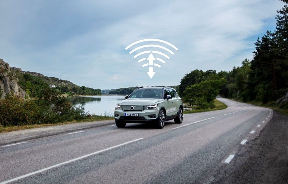 Actualizari de software over-the-air pentru Volvo XC40