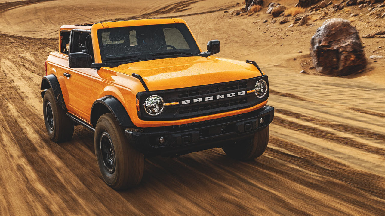 In curand - noul Ford Bronco 2021